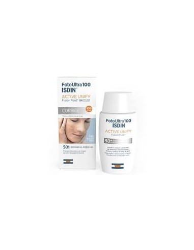 Isdin fotoultra active unify SPF100 50ml