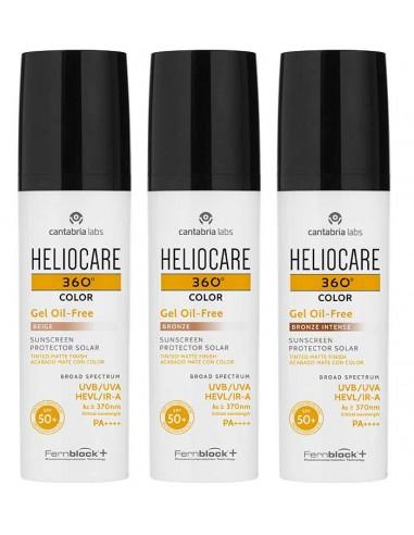 Heliocare 360º Gel oil free Bronze...