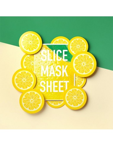 Kocostar slice sheet mask limón
