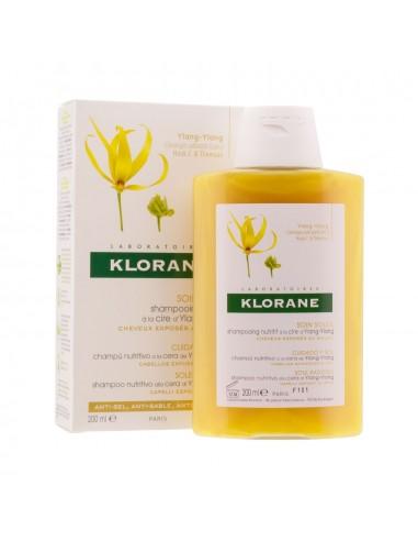 Klorane champú nutritivo a la cera de...