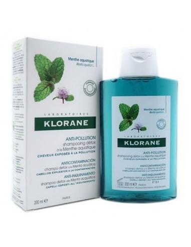 Klorane champú anti polución a la...