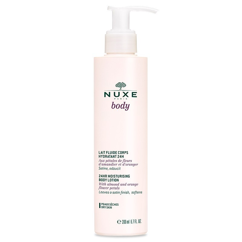 Loción corporal hidratante 24h Nuxe body