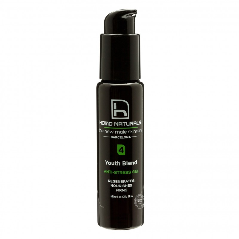 Youth blend anti-stress gel (paso 4) Homo Naturals