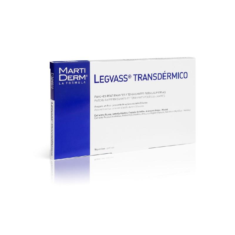 MartiDerm Legvass transdèrmico (14 parches)