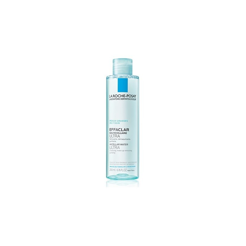 Agua micelar Effaclar ultra piel grasa